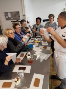workshop,chocolade,fontana,chocomedia,someren,vossen